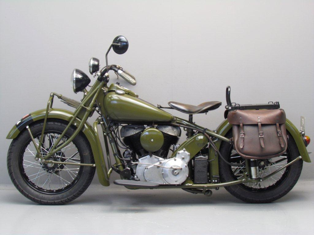 Motorcycle Indian Chief 340B - Sixth Army Group