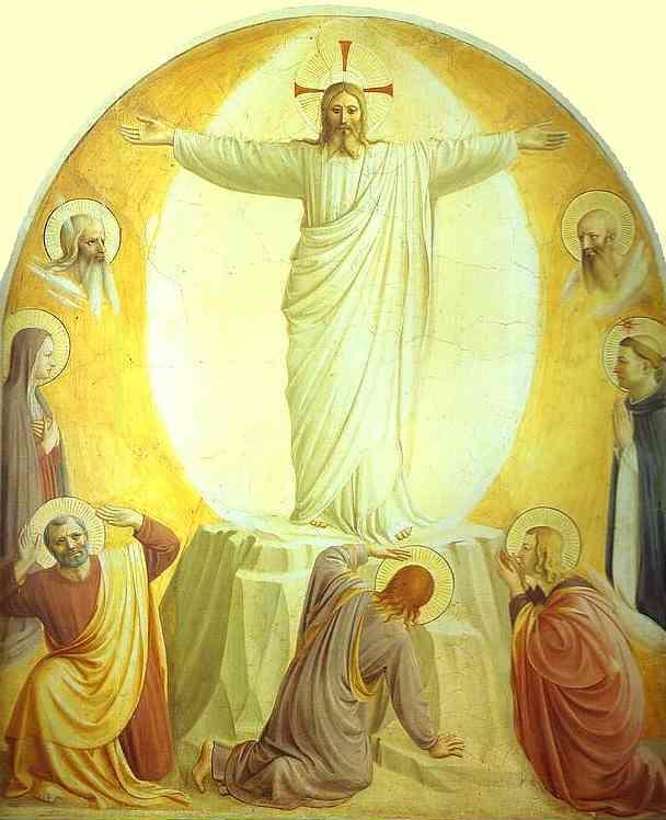 Transfiguration de Jésus Fra Angelico