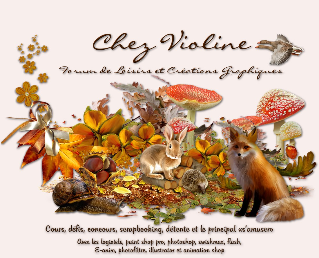 Chez Violine�Graphisme