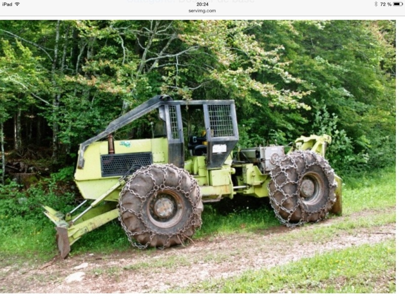 tracteur forestier agrip 4000