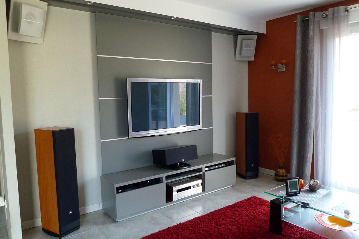 Salon Home Cin Ma De Wawan Page 45 29959616 Sur Le Forum  # Meuble Tv Pour Ampli Home Cinema