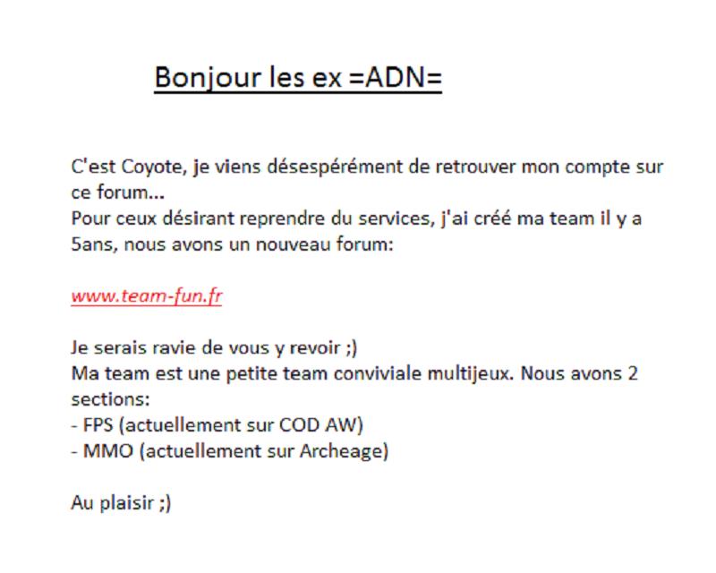 -=ADN=- Arche De Noé -=Call Of Duty 4=-