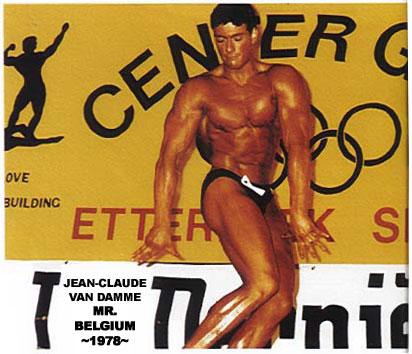 Jean-Claude Van Damme Body 2014