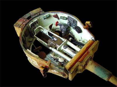 Le panzer vi tiger for L interieur du char de vimoutier