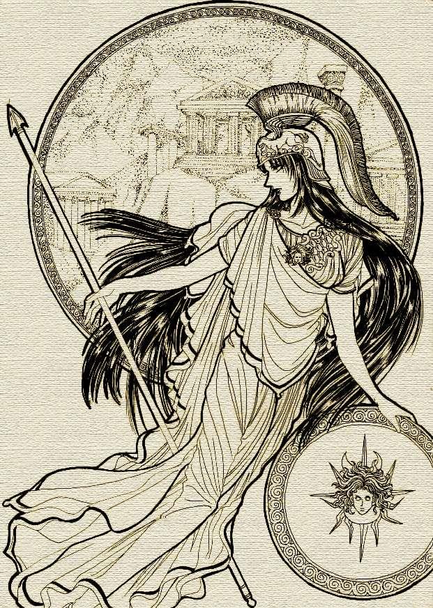 Biographie n°3 : athéna, déesse de la sagesse
