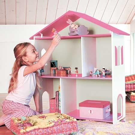 une maison de poup e toute pr te chez fnac eveil et jeux. Black Bedroom Furniture Sets. Home Design Ideas