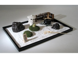 jardin zen miniatures. Black Bedroom Furniture Sets. Home Design Ideas
