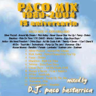 Paco Mix (1984-2004) - 15 Aniversario