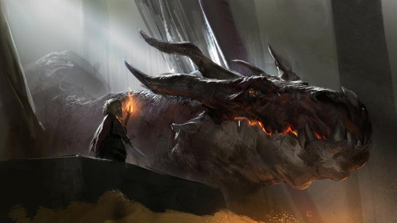 Smaug and Bilbon