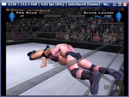 لعبة المصارعة الخطيرة SmackDown Here