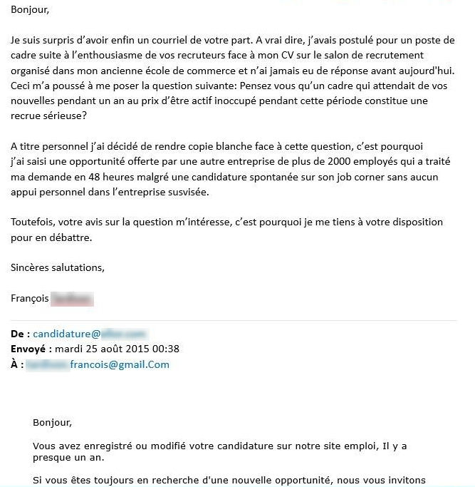 modele lettre de motivation quand on a deja un emploi
