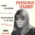 Françoise Hardy - Tous les garçons et les filles - Vogue EPL 7967