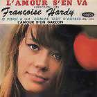 Françoise Hardy - L'amour s'en va - Vogue EPL 8076