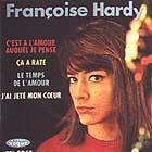 Le deuxième 45 tours de Françoise Hardy