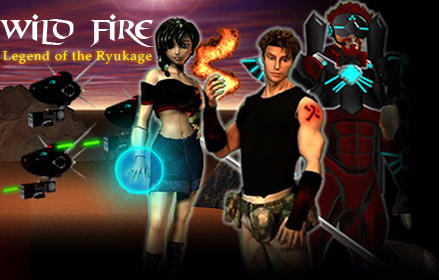 Wild FIRE: Legend of the Ryukage RPG