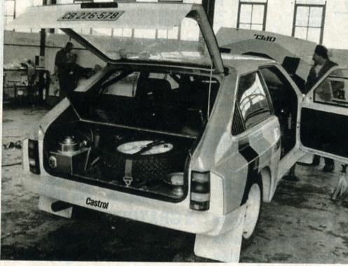Opel kadett GTE groupe B dans opel kadett10