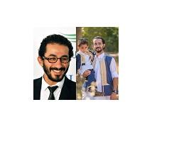 صورة شاب ليبي يشبه احمد حلمي كأنه توأمه