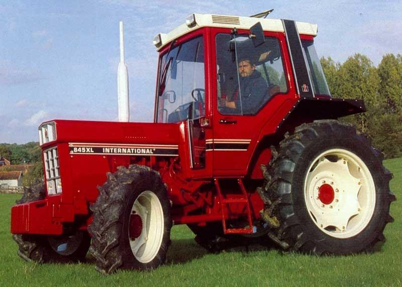 Tracteur ih 845 occasion