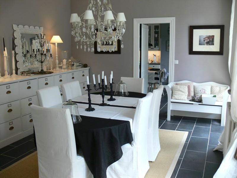 Conseil deco salon for Murs cuisine gris perle