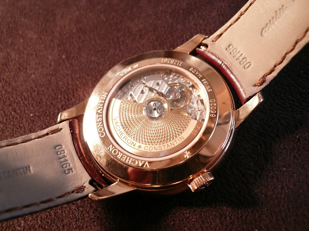 Patrimony day and date retrograde
