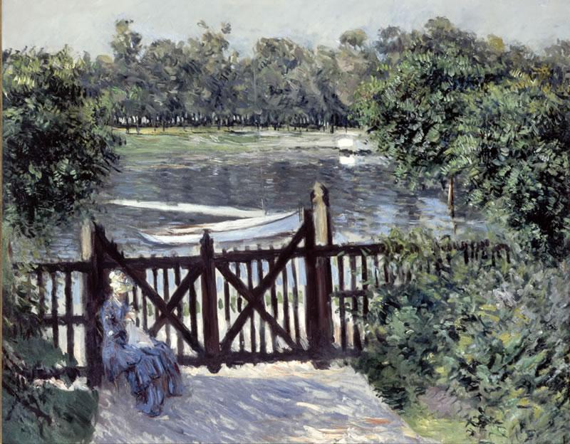 Gustave caillebotte peintre - Petit jardin contemporain argenteuil ...