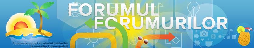 Forum gratuit: forum de suport al utilizatorilor