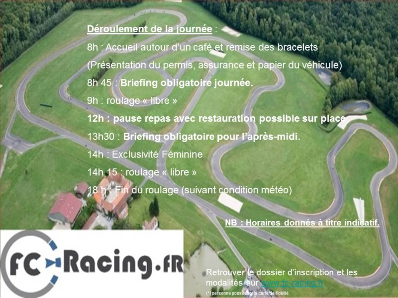 objectif circuit consulter le sujet ecuyers le 19 septembre avec fc racing. Black Bedroom Furniture Sets. Home Design Ideas