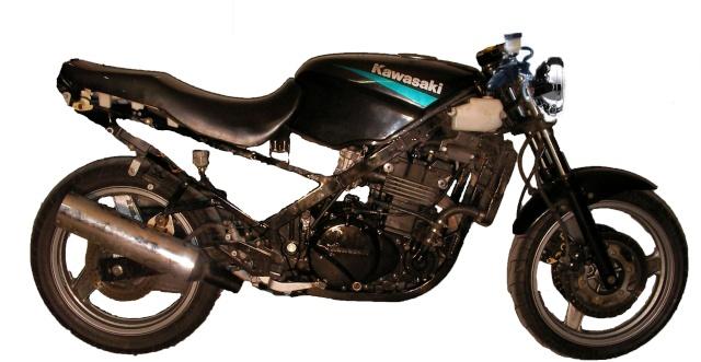 Kawasaki Gpz  Cafe Racer Parts