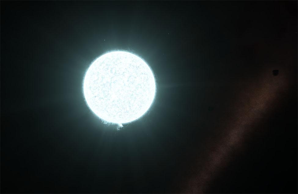 Auriez-vous deviné de quel type est cette étoile ?