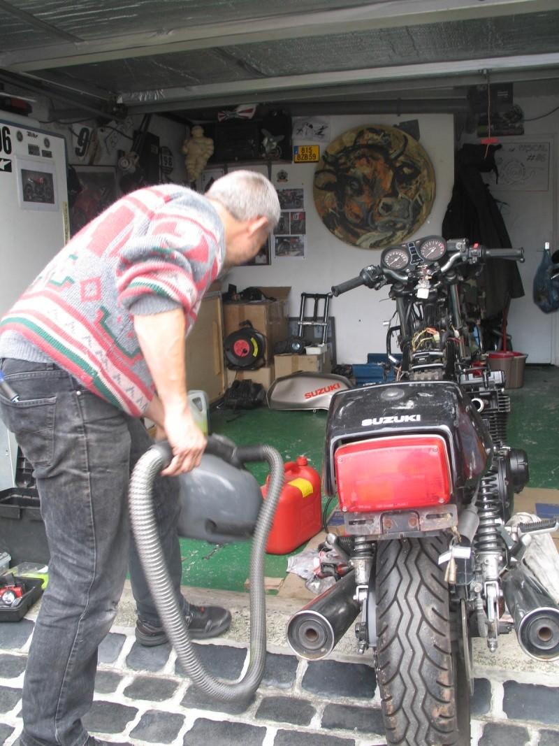 Projet michel pascal 1100 gsx of course for Garage pascal montfermeil