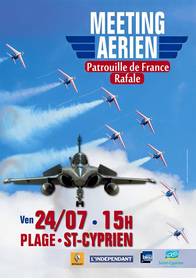 Meeting Aérien Saint Cyprien 2015,Pyrénées-Orientales,plage show aerien, voltige , Meeting Aerien 2015