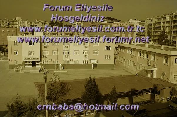 Tarsus Sad�k Eliyesil Forum