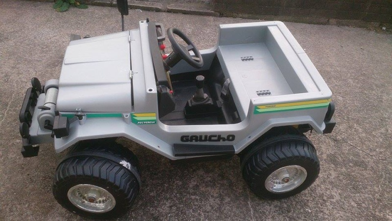 Peg Perego Gaucho Jeep Battery : Super newbie clueless looking for help