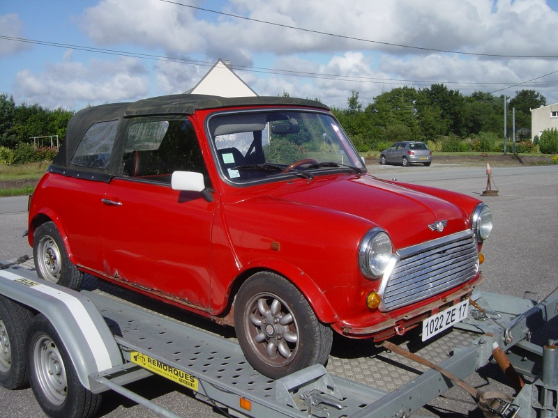 Resto mini cooper 92 arc de triomphe par le garage rcaustin for Garage mini 92