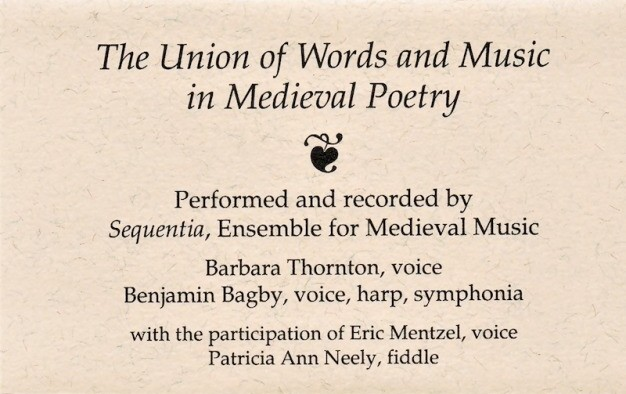 UNION WORDS MUSIC