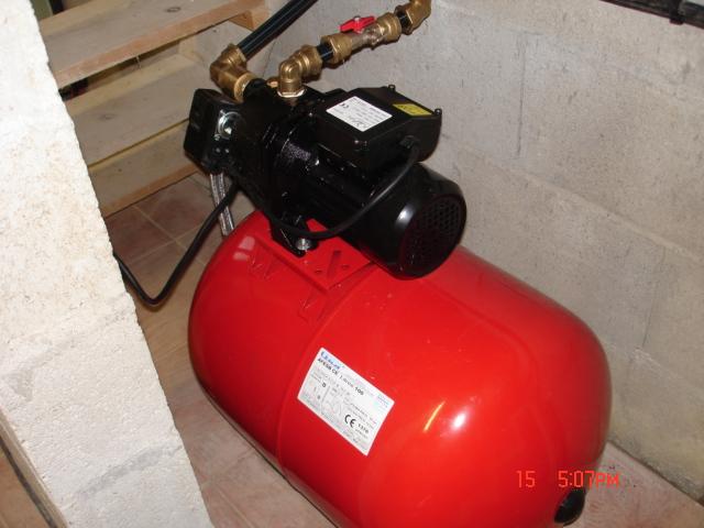 Installation d 39 une cuve eau enterr e page 2 - Cuve a eau brico depot ...