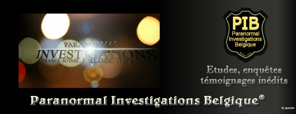Paranormal Investigations Belgique