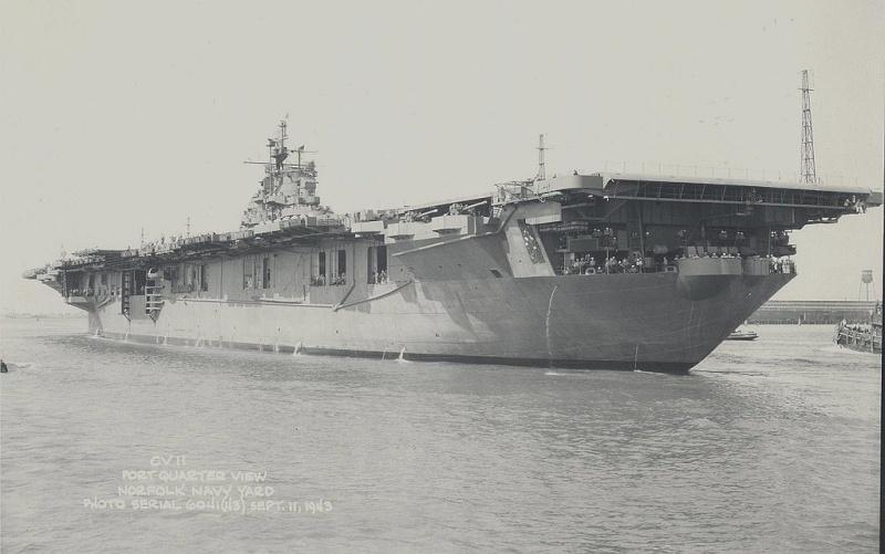 les porte-avions americains