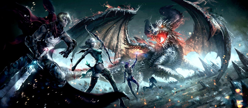 The Last Dragon Slayers. Guild Wars 2