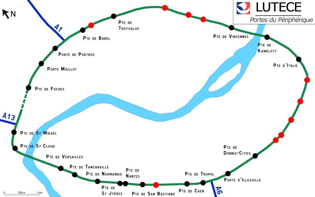 Cxl lut ce rfgc 2011 avancement des travaux au 18 - Plan du peripherique parisien les portes ...