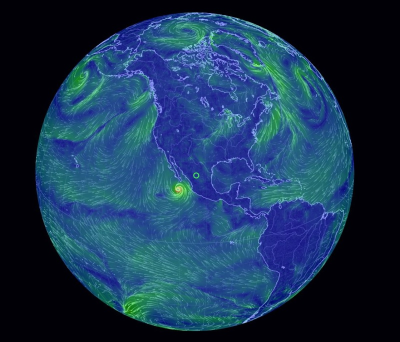 Weather Maps - Current us wind map