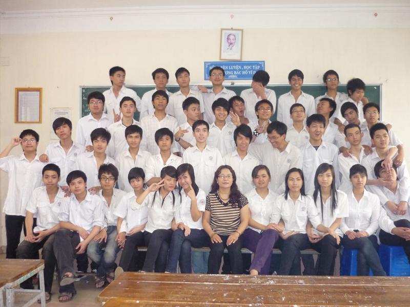 12A3 - THPT Nguyễn Bỉnh Khiêm - Hà Nội - Khoá học 2006 -> 2009
