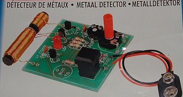 D tecteur de m taux construction sch ma plan - Comment detecter une panne electrique ...