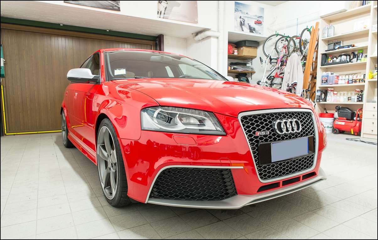 AUDI RS3 Rosso Misano : Nanotech detailing - in Detailing