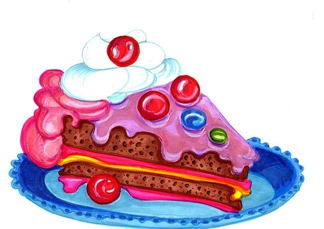 Веселые тортики картинки