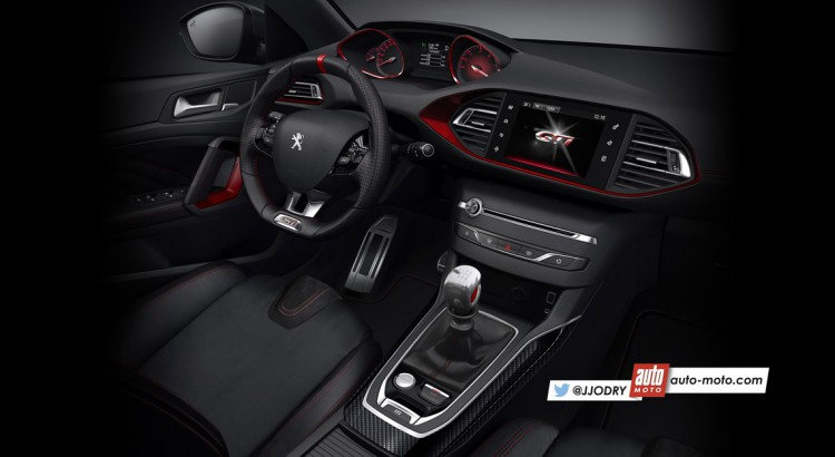 2016 peugeot 308 gti page 8 for Interieur 308 gti