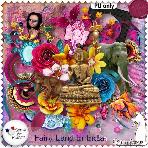Fairy land in India de Kittyscrap dans Juillet kittys49