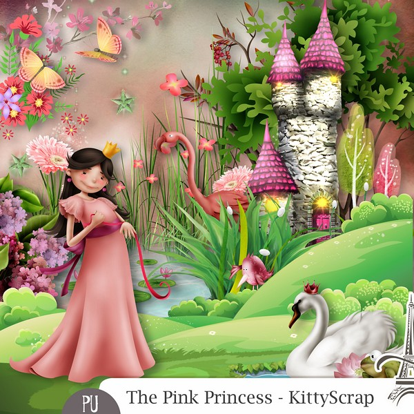 The pink princess de Kittyscrap dans Septembre previe44