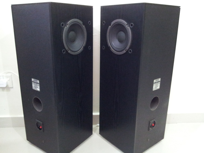 bose 401 direct reflecting floorstanding speaker with stereo space array used. Black Bedroom Furniture Sets. Home Design Ideas