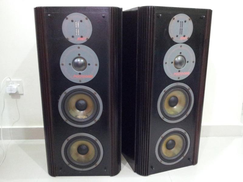 Infinity rs5 reference standard emit tweeter floorstand speaker